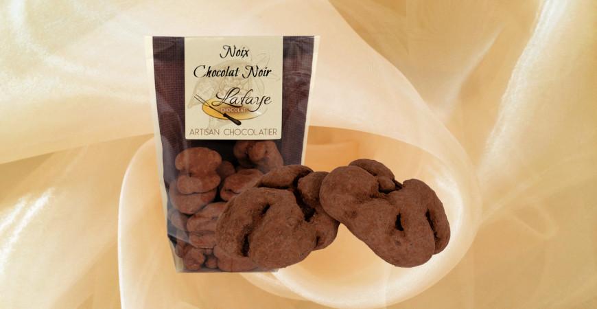 Noix chocolat noir
