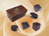 Assortiment de chocolats noir