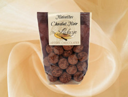 Noisette au chocolat noir