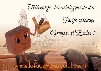 Téléchargez les catalogues de nos tarifs spéciaux groupes et écoles